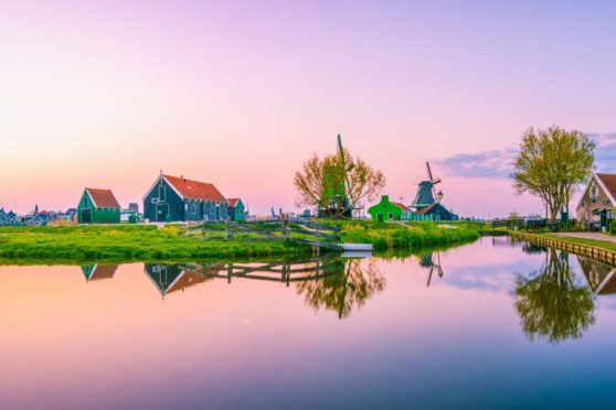 Join our special online event to find out more about exclusive 2022 river cruise. Highlights include Keukenhof Garden and Zaanse Schans (pictured).