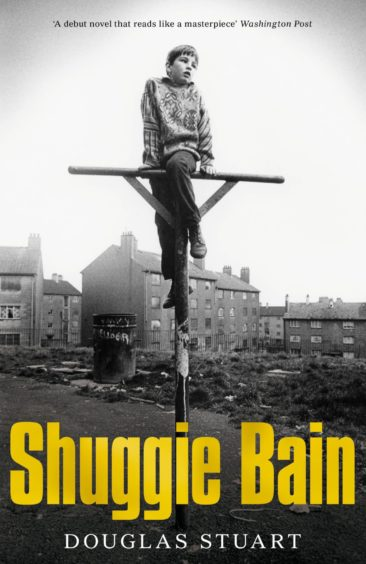 The iconic cover of best-selling Shuggie Bain