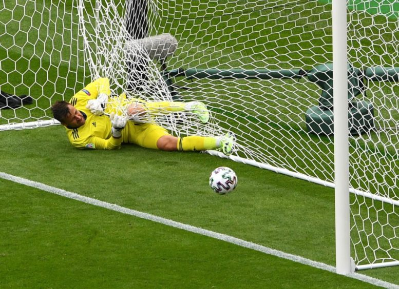 David Marshall's woes against the Czech Republic were an enduring image of Euro 2020