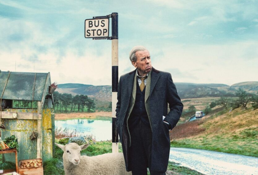 Timothy Spall stars in the film The Last Bus