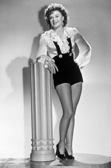Ginger Rogers in the iconic role (Pic: Snap/Shutterstock)