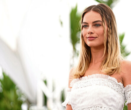 Margot Robbie attends Once Upon a Time in Hollywood photocall