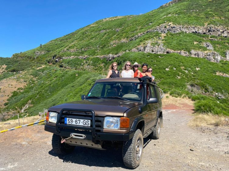 Off-roading in Madeira