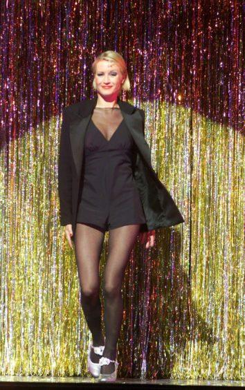 Denise Van Outen as Roxie in 2001 (Pic: Alan Davidson/Shutterstock)