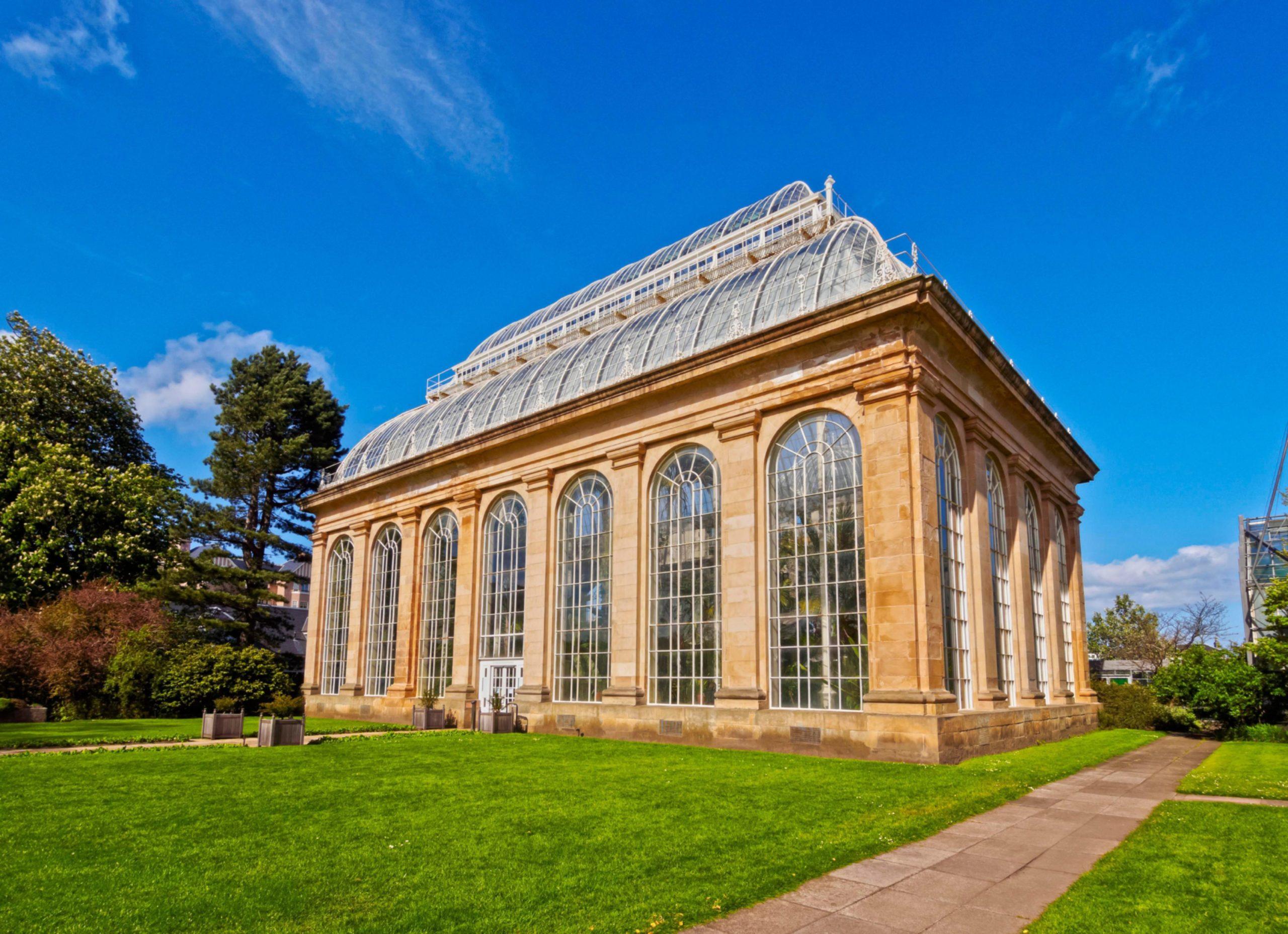 Royal Botanic Garden Edinburgh's Temperate Palm House, home to exotic plants