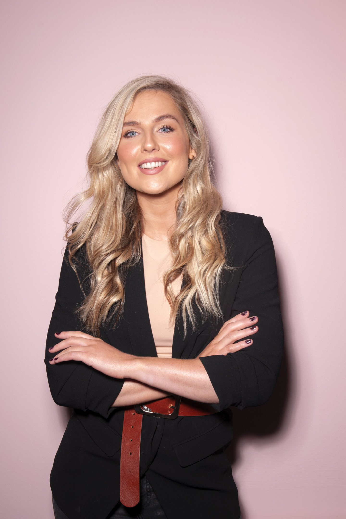 Aimee Connolly, make-up artist and founder of Sculpted by Aimee
