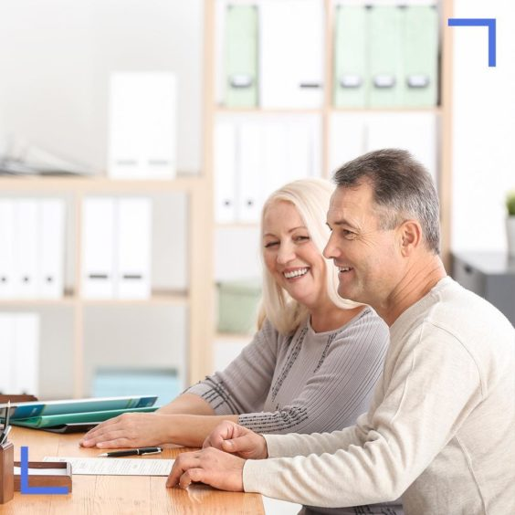 Couple arranging Power of Attorney