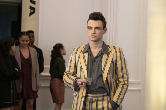 Thomas Doherty as Max Wolfe in the reboot of Gossip Girl featuring all-new cast