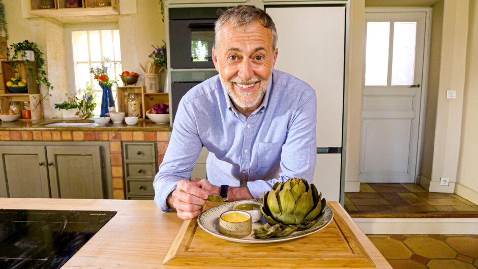 Michel in the kitchen