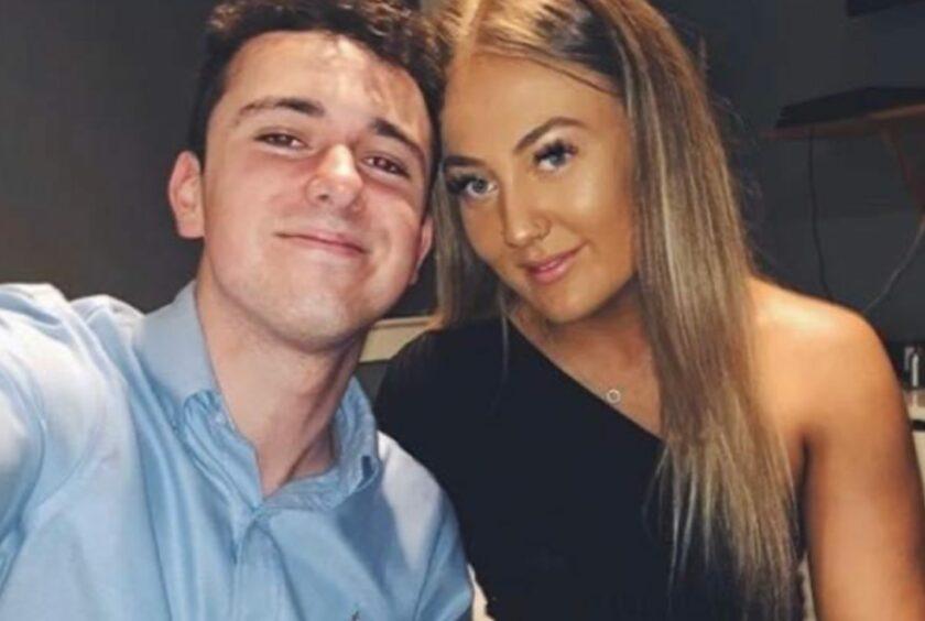 Jack and partner Danielle
