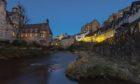 Water of Leith flows through Dean Village