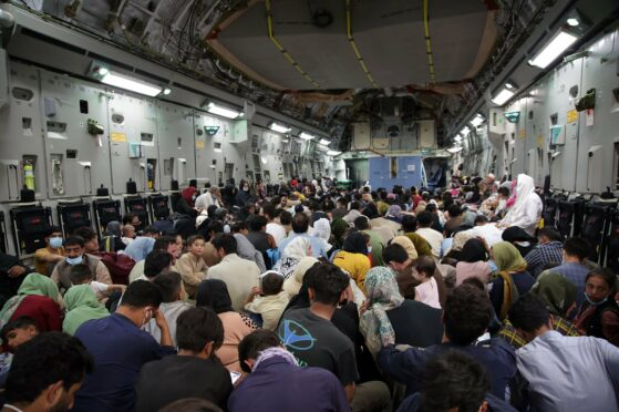 Refugees are evacuated from Kabul