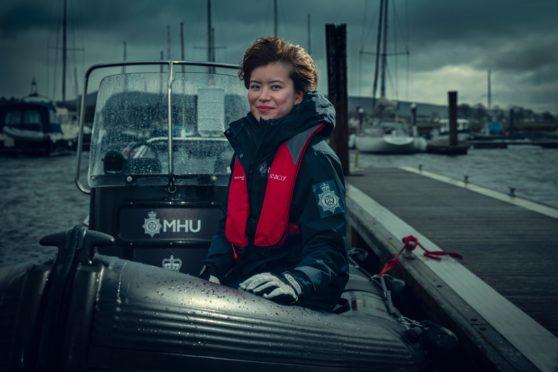 Katie Leung stars as DC Blair Ferguson in new police drama, Annika