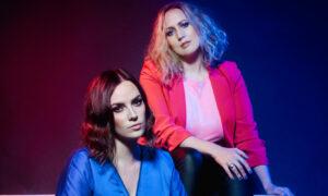Marissa Keltie (left) and Caroline Gilmour of The Eves