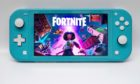 Fortnite game on the Nintendo Switch handheld console