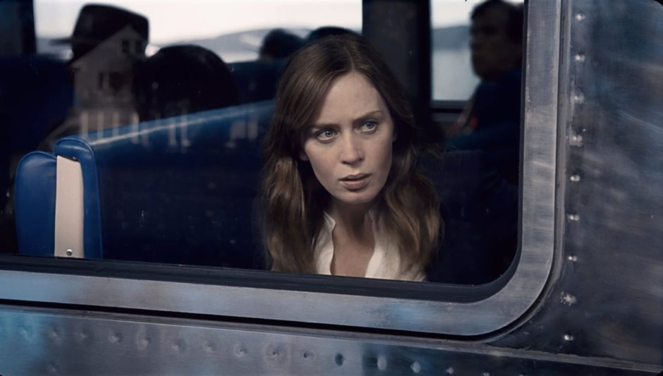 Emily Blunt as Rachel in the 2016 film version of The Girl On The Train