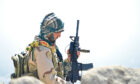 A resistance fighter in Panjshir