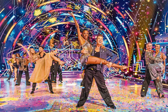 Strictly Come Dancing line up.