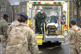 Paramedics: Army must run field hospitals to ease A&E crisis