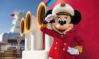 Captain Minnie Mouse on the Disney Cruise Line.