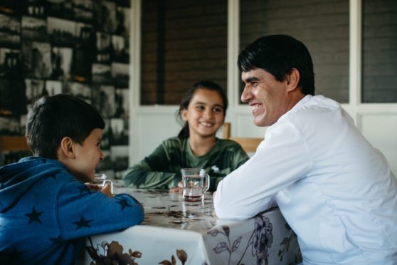 Afghan interpreter's happiness at new life in Scotland and fears for family back home
