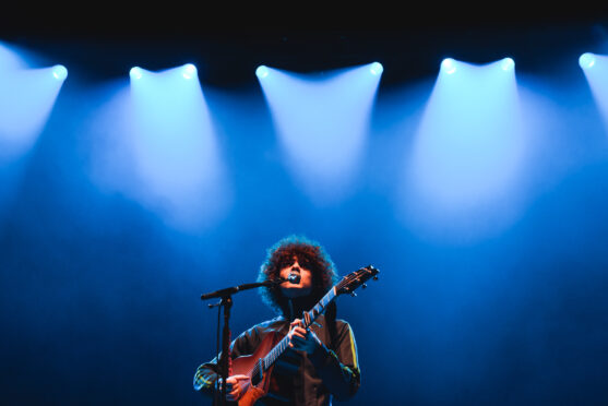 TRNSMT: Kickabouts to King Tut's in Glasgow Green for rising star Dylan John Thomas