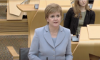 First Minister Nicola Sturgeon announced today vaccine passports may become necessary to enter nightclubs.