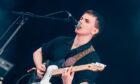 Declan Welsh on stage at TRNSMT