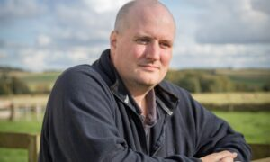 Graeme Macleod on his farm