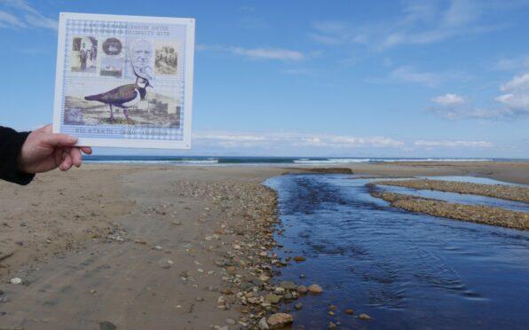 Jan Nimmo's artwork I Am The Machrihanish Water