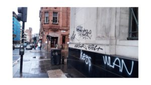 Writing on the wall for world leaders after graffiti surges in lockdown ahead of COP26