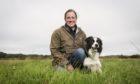 Farmer and sheepdog trainer Michelle Bruce on her Aberdeenshire farm