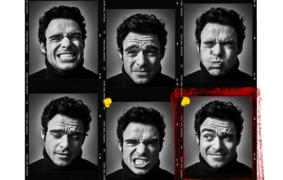 Scots actor Richard Madden, as photographed by Andy Gotts