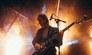 The Ninth Wave's Haydn Park-Patterson on stage at TRNSMT