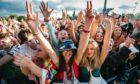 Music fans soaking in TRNSMT's atmosphere