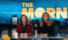 Reese Witherspoon and Jennifer Aniston in The Morning Show