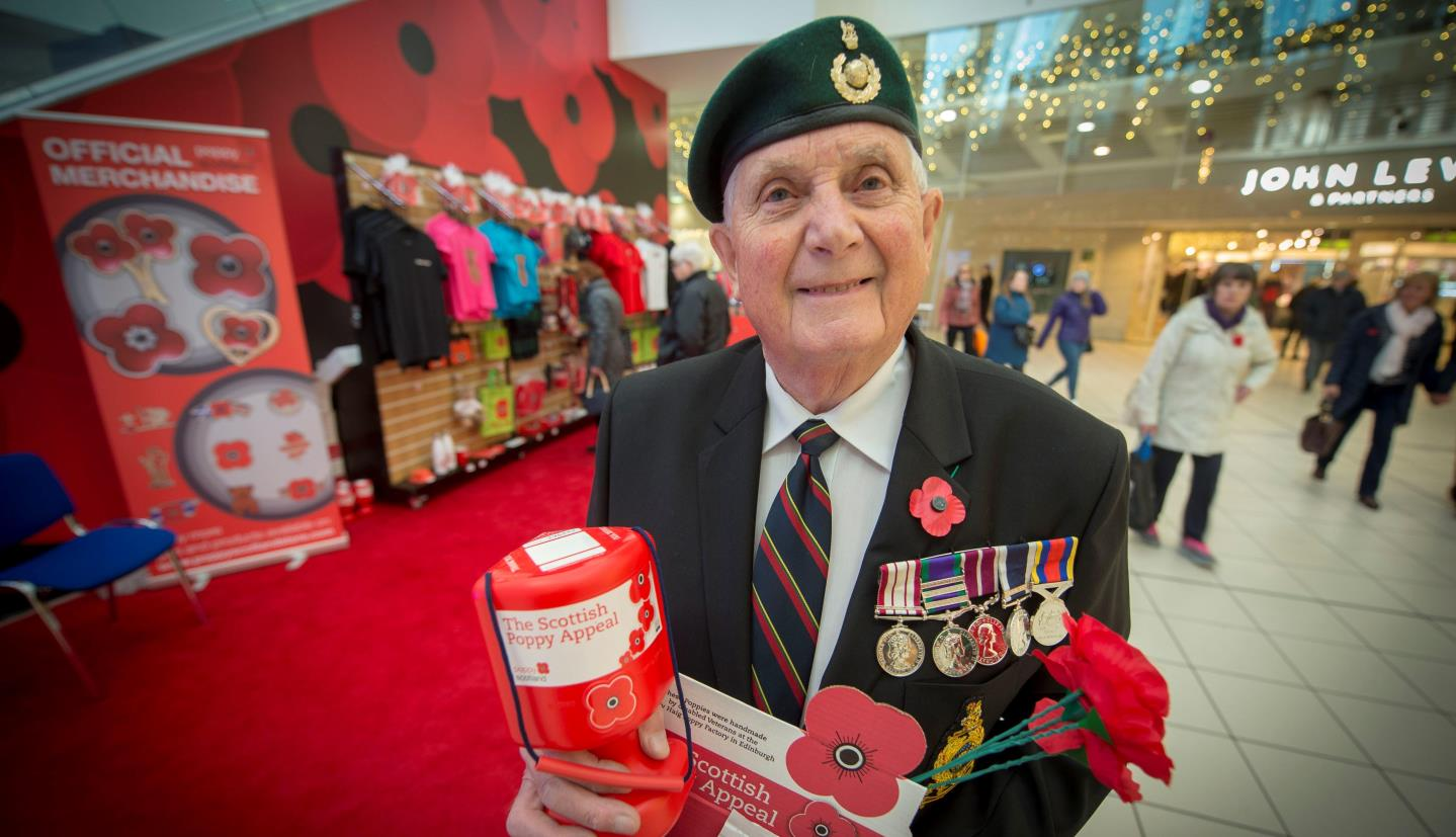 Veteran raising money for Poppyscotland (how can I support older veterans in my area)
