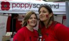 Lorna McConnell and Nina Semple, welfare services managers at Poppyscotland