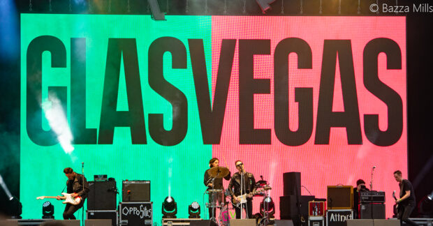 Glasvegas on stage