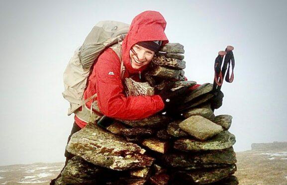 Munro-hugger Shona during South Glen Shiel Ridge climb