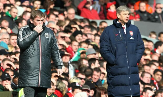 Kenny and Arsene Wenger had many a battle in the dugout. Now they're at odds over football's future
