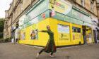 STRUT dancer Seema on the streets of Glasgow's southside