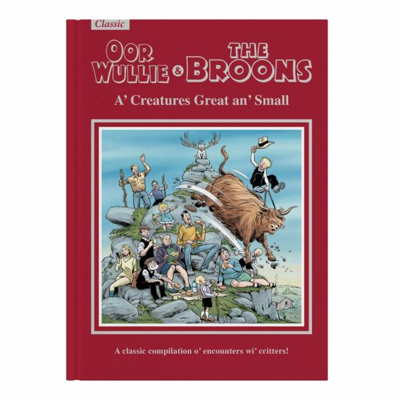 The Broons and Oor Wullie Gift Book