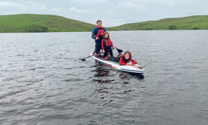 Paddleboarding is growing in popularity across the UK.