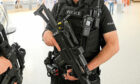 Armed police unit.