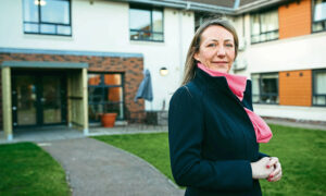 CEO Jill Kerr of  Balhousie St Ronans Care Home in Dundee.