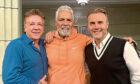 Ross King, Las Vegas legend, Clint Holmes and Gary Barlow.