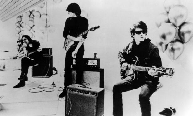 The classic line-up of The Velvet Underground.