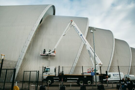 Cop26 clean-up: Glasgow buildings are spruced up ahead of climate conference
