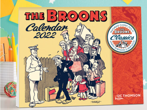 The latest calendars from The Broons and Oor Wullie are now available.